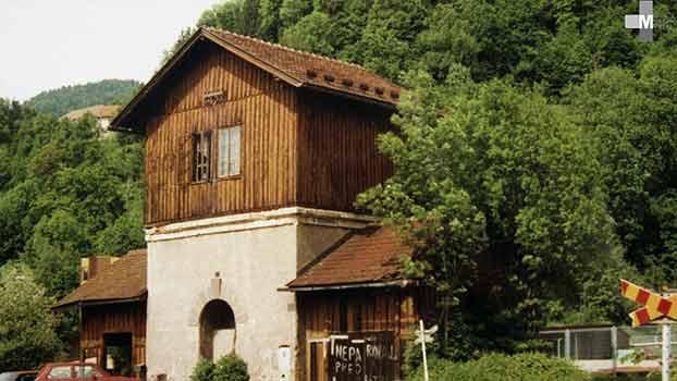 Štrekna - Tipična vodna postaja v Otiškem Vrhu.